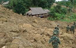 18 người bị vùi lấp trong mưa lũ ở Hòa Bình: Đã tìm thấy 8 thi thể