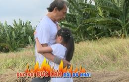 Cháu ơi, cháu à: Con gái Phạm Anh Khoa phát khiếp với thử thách bắt lươn