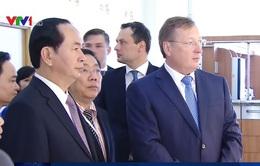 Chủ tịch nước thăm Tập đoàn dầu khí Zarubezhneft