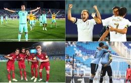 CHÍNH THỨC: Lịch thi đấu và trực tiếp bóng đá vòng tứ kết FIFA U20 thế giới 2017