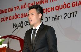 Công Vinh làm quyền Chủ tịch CLB TP.HCM