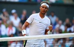 """Lịch thi đấu Wimbledon 2017 ngày 7/7: Nadal đối đầu """"hiện tượng"""" người Nga"""