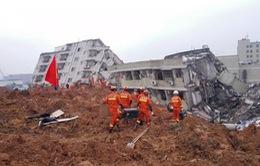 Lở đất ở Trung Quốc, 3 người thiệt mạng