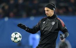 Man Utd thua sốc, Ibrahimovic vẫn lập kỷ lục độc nhất vô nhị