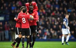 Thắng nhọc nhằn West Brom, Man Utd tiếp tục bám đuổi Man City