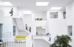 Không gian ấn tượng của trường đại học ở Đan Mạch