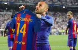 Những thống kê thú vị xung quanh bàn thắng đầu tiên của Mascherano cho Barcelona