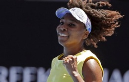 Venus Williams nhẹ nhàng vào vòng 3 Australia mở rộng 2017