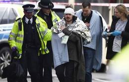 Những hình ảnh kinh hoàng từ hiện trường vụ khủng bố tại London, Anh