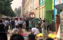 Trung Quốc: Vụ nổ gần trường mầm non có thể do nổ khí gas