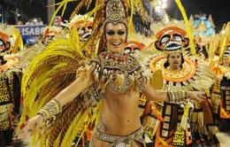 Hàng triệu người tham gia lễ hội hóa trang tại Brazil