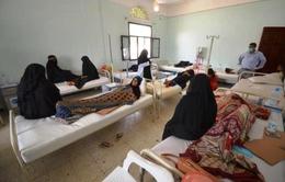 Dịch tả bùng phát tại Yemen, 115 người tử vong