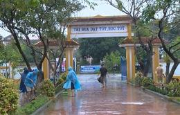 Các trường học ở Thừa Thiên Huế khắc phục hậu quả mưa lũ