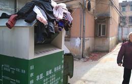 Trung Quốc: Phanh phui bê bối quyên góp quần áo từ thiện đem bán