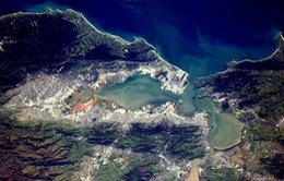 Hình ảnh ngoạn mục của Trái Đất nhìn từ không gian