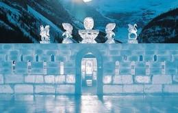 Khám phá những lâu đài băng tuyệt đẹp vòng quanh thế giới