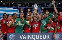 Thắng tối thiểu Angers, PSG vô địch Cúp Quốc gia Pháp