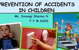 Những cách đơn giản để phòng ngừa tai nạn đối với trẻ em