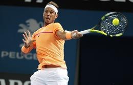 Giải quần vợt Brisbane International: Rafael Nadal vào tứ kết