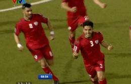 VIDEO: Hasan Amin sút xa ghi bàn vào lưới ĐT Việt Nam gỡ hòa cho ĐT Afghanistan