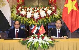 Thông cáo báo chí chung về chuyến thăm cấp Nhà nước đến Việt Nam của Tổng thống Ai Cập