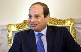 Tổng thống Ai Cập bắt đầu chuyến thăm chính thức Pháp