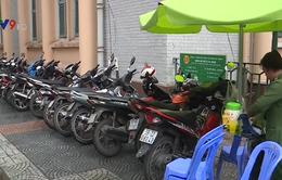 TP.HCM cấp phép tạm cho bãi giữ xe trên vỉa hè có thu phí