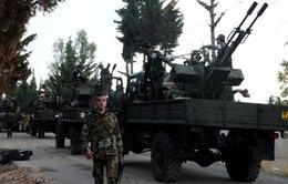 Quân đội Syria bao vây Đông Damacus, khủng bố bị cô lập hoàn toàn