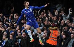 Vòng 24 Ngoại hạng Anh, Chelsea 3 - 1 Arsenal: Rộng đường vô địch!
