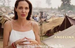Angelina Jolie ra mắt phim về Khmer Đỏ tại Campuchia