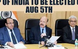Ấn Độ sẽ tiến hành bầu Phó Tổng thống