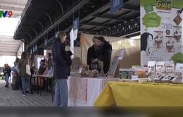 Khám phá sản phẩm thuần chay tại Lễ hội ăn chay ở Paris, Pháp