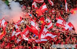 V.League 2017: Chờ đợi những bất ngờ từ các CĐV Hải Phòng trong mùa giải mới