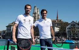 Andy Murray thi đấu giao hữu với Roger Federer, thành phố Manchester muốn đăng cai WTA Finals