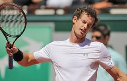 """""""Đế chế"""" của Andy Murray sắp đi đến hồi kết?"""