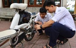 Học sinh THPT chế tạo thiết bị giới hạn tốc độ xe đạp điện