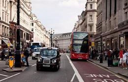 Chi phí sinh hoạt tại London giảm mạnh