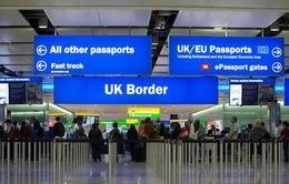 Số người nhập cư vào Anh giảm kỉ lục do Brexit