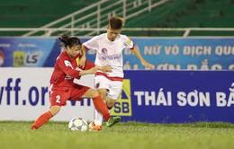Giải bóng đá nữ VĐQG 2017: TKS Việt Nam giữ ngôi đầu