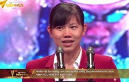 Nguyễn Thị Ánh Viên nhận giải Nhân vật ấn tượng của năm tại VTV Awards