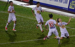 Vòng 24 giải VĐQG V.League 2017, ngày 04/11: CLB Sài Gòn 1-2 HAGL, CLB Hải Phòng 2-0 SHB Đà Nẵng, SLNA 3-2 CLB Long An