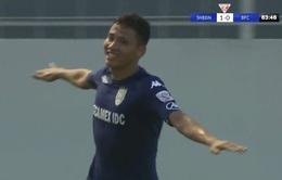 Vòng 12 VĐQG V.League 2017, SHB Đà Nẵng 1-1 Becamex Bình Dương: Chia điểm tại Hòa Xuân