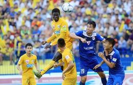 TRỰC TIẾP BÓNG ĐÁ Vòng 22 giải VĐQG V.League 2017: Than Quảng Ninh - FLC Thanh Hóa, CLB Long An - CLB Sài Gòn, CLB Hà Nội - XSKT Cần Thơ
