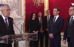 Tân Chính phủ Áo tuyên thệ nhậm chức