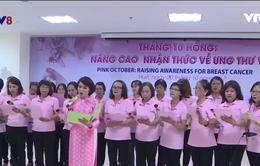 """Câu lạc bộ """"Áo Hồng"""" - Tiếp niềm tin cho các nữ bệnh nhân ung thư"""