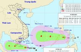 Ảnh hưởng áp thấp nhiệt đới, lũ trên các sông từ Quảng Nam đến Khánh Hòa tiếp tục lên