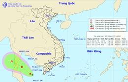 Miền Trung tiếp tục mưa diện rộng, xuất hiện áp thấp vùng Vịnh Thái Lan