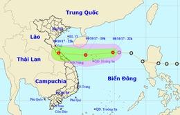 Áp thấp nhiệt đới di chuyển nhanh, đi vào vùng biển các tỉnh Hà Tĩnh - Quảng Trị
