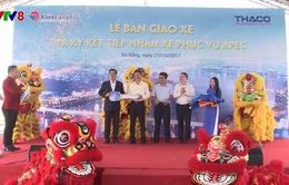 Lễ bàn giao xe phục vụ công tác vận chuyển APEC 2017