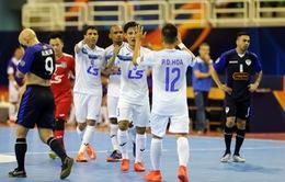 Lịch thi đấu tứ kết Giải futsal các CLB châu Á 2017: Thái Sơn Nam đối đầu đương kim á quân